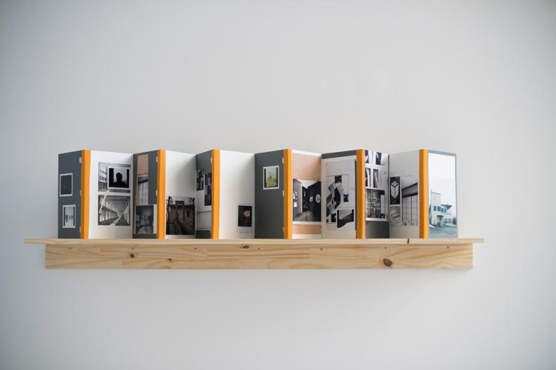 Øystein Aasan Sans titre (livre d'artiste) 2010 Techniques mixtes