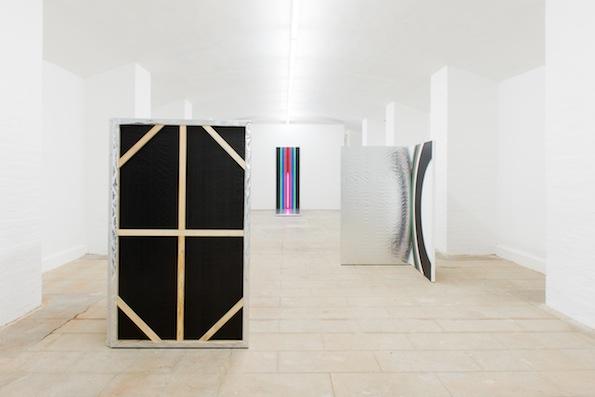 Vue de l'exposition : Lisa Beck, Endless. © Bertrand Stofleth / La Salle de bains
